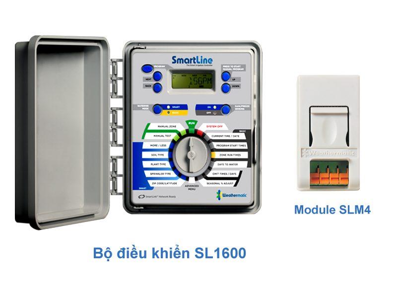 Cài đặt tưới SL1600 và MODUL mở rộng SLM4