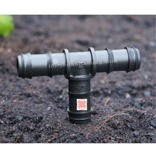 Tê nối ống mềm PE 16mm